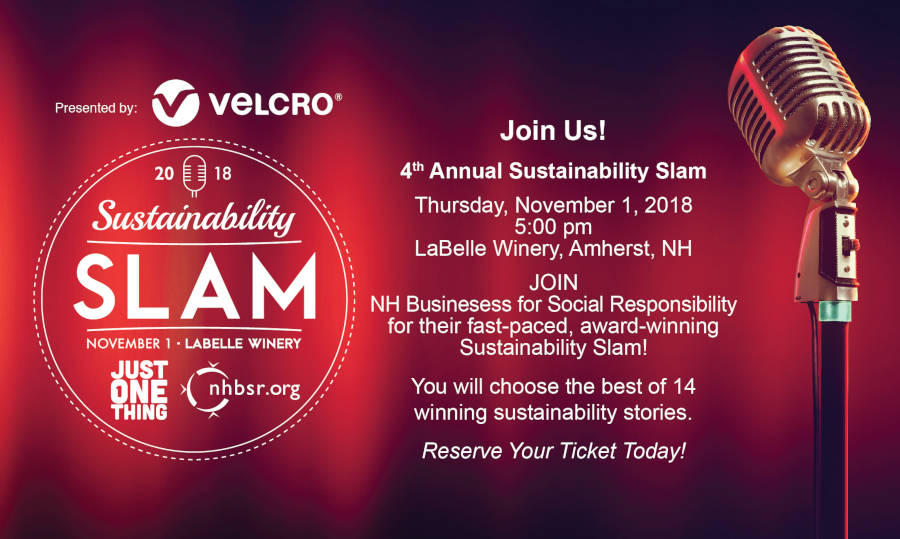 NHBSR 2018 Sustainability Slam